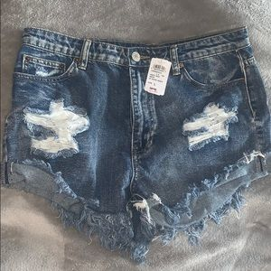 Windsor Dark and Distressed Shorts